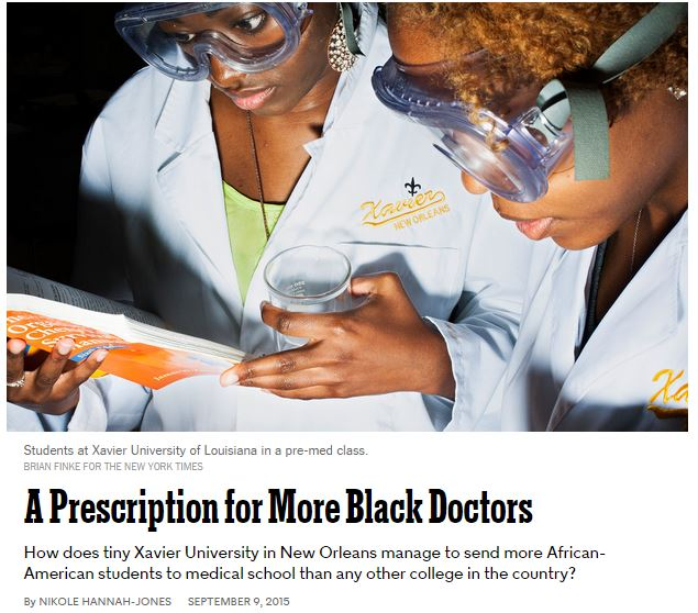 A Prescription for More Black Doctors